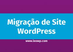 Migração de site WordPress