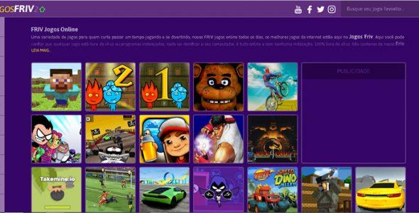 Friv Jogos – Tema WordPress para site de Jogos Online