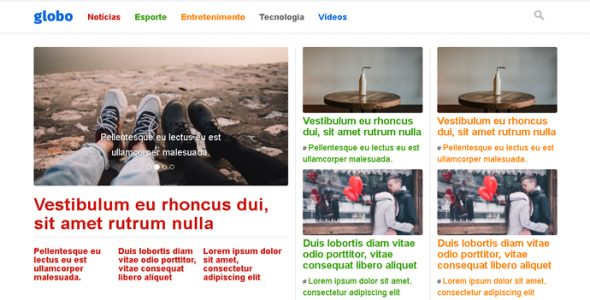 Globo – Tema WordPress Responsivo