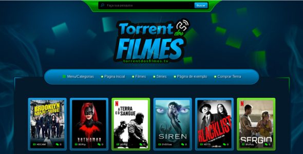 Torrent dos Filmes – Tema WordPress Responsivo